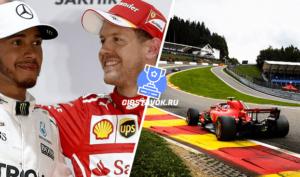 Прогноз на Гран При Бельгии 1.09.2019 Формула 1