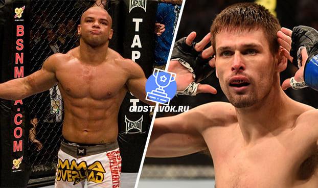 Прогноз Тьяго Алвес- Тим Минс UFC on ESPN 7