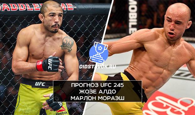 Прогноз Жозе Алдо - Марлон Мораэш UFC 245