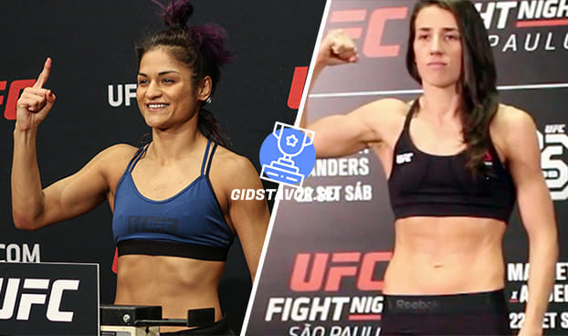 Прогноз Синтия Кальвильо - Марина Родригес UFC on ESPN 7