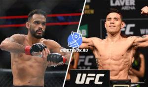 Прогноз Роб Фонт - Рики Саймон UFC on ESPN 7