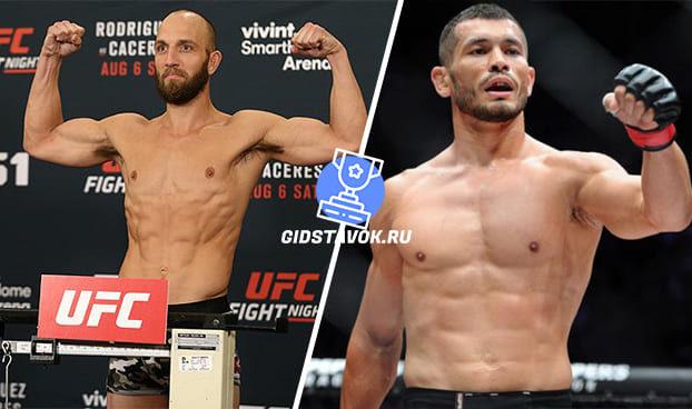 Прогноз Тревор Смит - Махмуд Мурадов UFC on ESPN 7