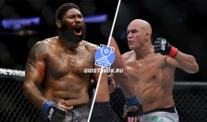 Прогноз Кертис Блэйдес - Джуниор Дос Сантос UFC Fight Night 166