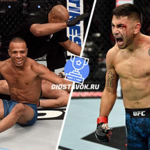 Прогноз Джордан Эспинос - Алекс Перес UFC Fight Night 166