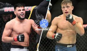 Прогноз Насрат Хакпараст - Дрю Добер UFC 246