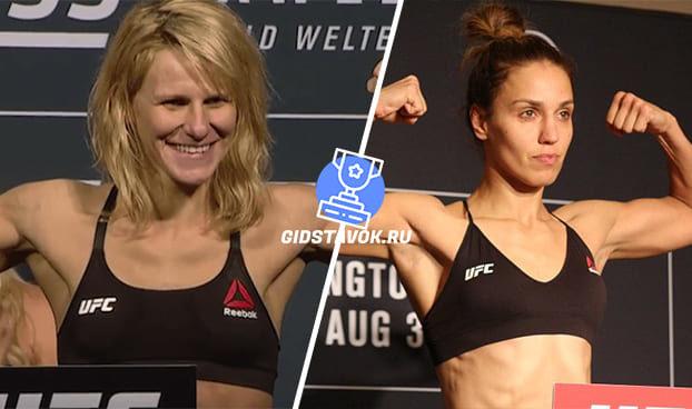 Прогноз Жюстина Киш - Люси Пудилова UFC Fight Night 166