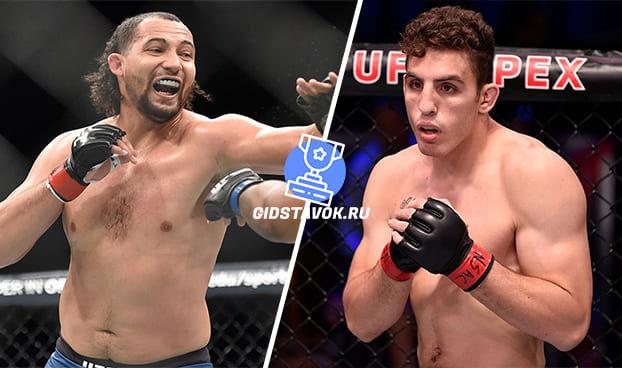 Прогноз Джастин Ледет - Алекса Камур UFC Fight Night 166