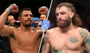 Прогноз Рафаэль дос Анжос - Майкл Кьеса UFC Fight Night 166