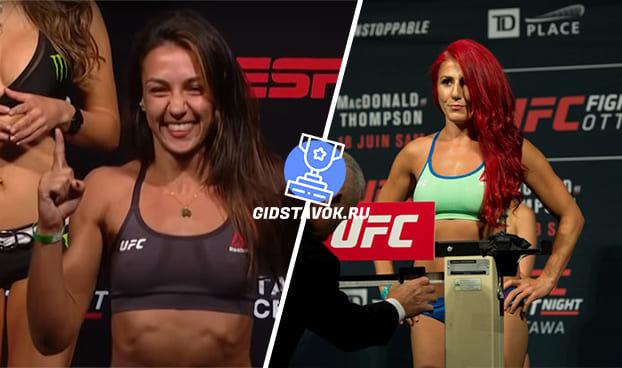 Прогноз Аманда Рибас - Ранда Маркос UFC FN 170