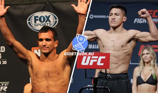 Прогноз Рани Яхья - Энрике Барзола UFC FN 170