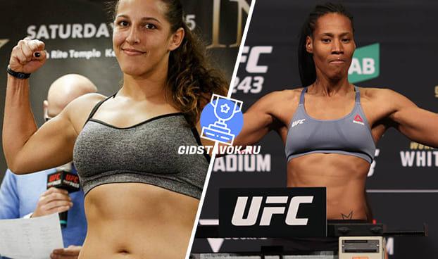 Прогноз Фелиция Спенсер - Зара Фейрн Дос Сантос UFC FN 169