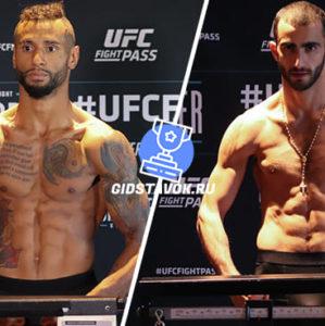 Прогноз Майк Дэвис - Гига Чикадзе UFC FN 169