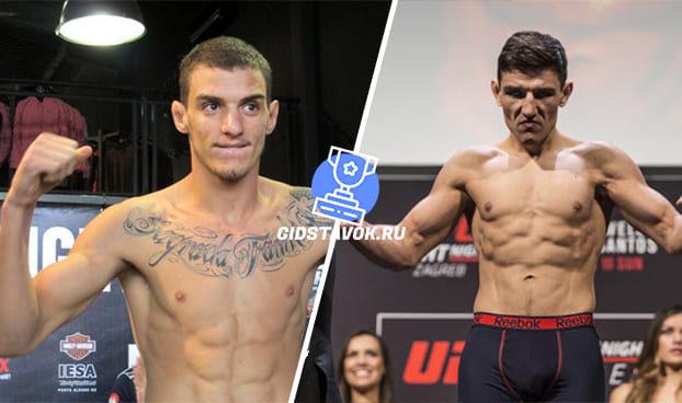 Прогноз Ренато Карнеиро - Дамир Хадзович UFC FN 170