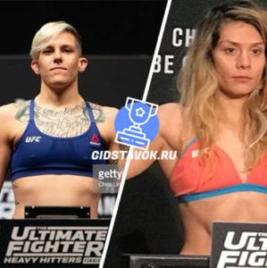 Прогноз Мэйси Чиассон - Никко Монтано UFC FN 167
