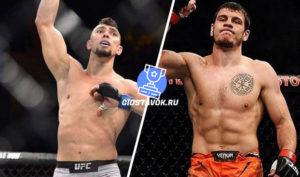 Прогноз Джонни Уолкер - Никита Крылов UFC FN 170
