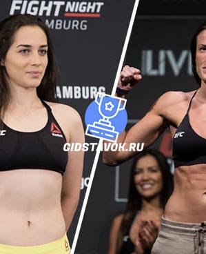 Прогноз Вероника Маседо - Би Малецки UFC FN 170
