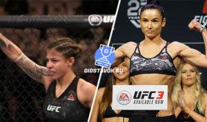 Прогноз Майра Буэно Силва - Марина Мороз UFC FN 170