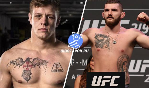Прогноз Джим Крут - Михал Олексейчук UFC FN 168