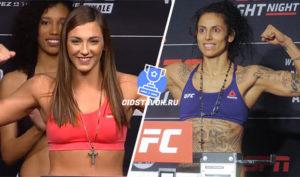 Прогноз Монтана Де Ла Роса - Мара Ромеро Борелла UFC FN 167