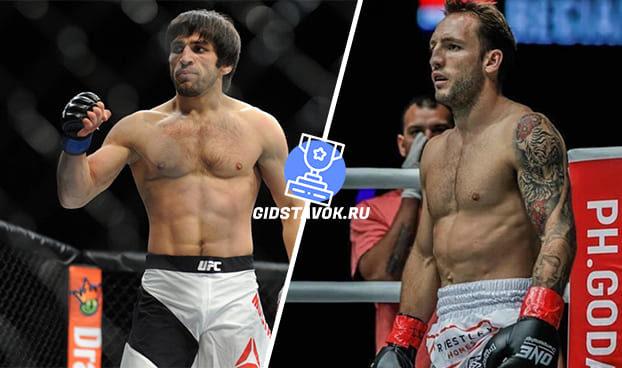 Прогноз Магомед Мустафаев - Брэд Ридделл UFC FN 168