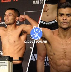 Прогноз Марк Делароса - Раульян Пайва UFC FN 167
