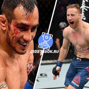 Прогноз Тони Фергюсон - Джастин Гэтжи UFC 249