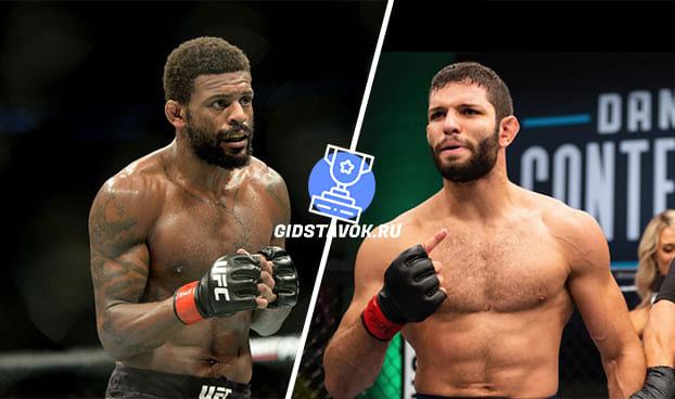 Прогноз Майкл Джонсон - Тьяго Моисес UFC FN 13-14.05.2020
